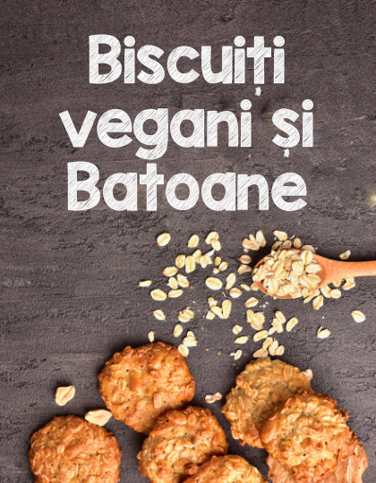Biscuiti vegani si Batoane