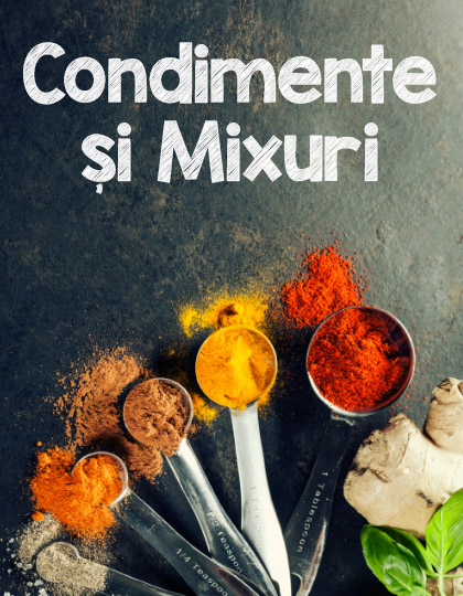 Condimente si Mixuri