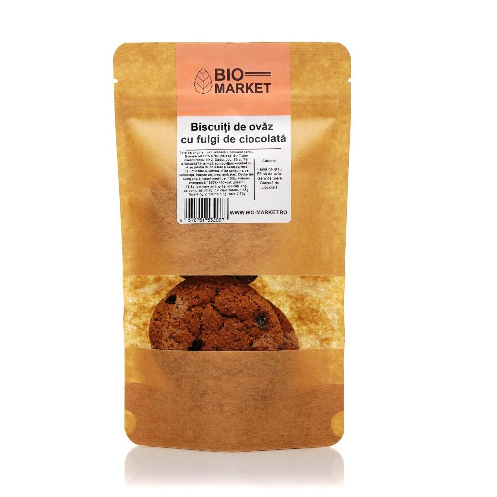 Biscuiti vegani cu ciocolata 240g