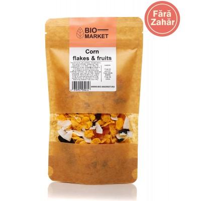 Corn flakes & fruits 350g