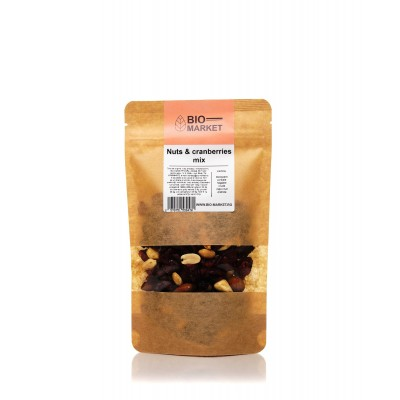 Nuts & cranberries 250g