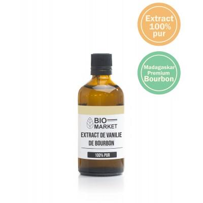 Extract pur de vanilie de Bourbon 50ml