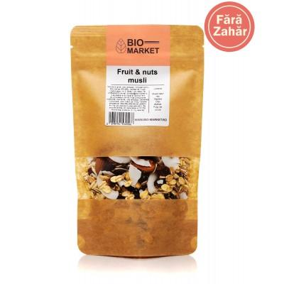 Fruit & nuts musli 500g