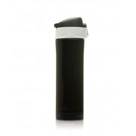 Termos inox negru glossy 420ml