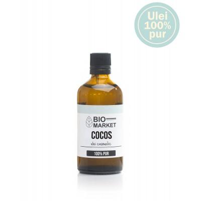Ulei de cocos fractionat (Caprylic) cosmetic 50ml