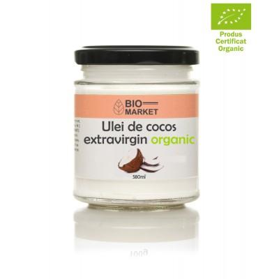 Ulei de cocos extravirgin BIO 580ml